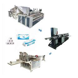 Bonne qualité avec gaufrage papier Papier hygiénique rembobinage Making Machine