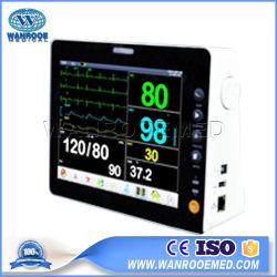 F4 Hôpital Multi-Parameter 8 pouce de salle de l'unité ICU de la pression artérielle Moniteur Patient Portable avec conception étanche