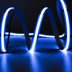Utra Thin 24V Cabo Flexível Light Cortável 8W 10W 12W 540LED/M espiga de LED de luz da faixa