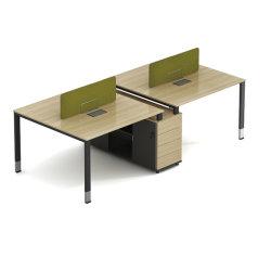 Meilleure station de travail pieds métalliques Prix Design de mobilier de bureau de châssis au design moderne station de travail de bureau de l'armoire