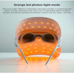 Venda por grosso de infravermelhos visível Anti Envelhecimento terapia de luz LED Máscara facial