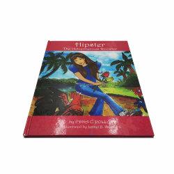 تجليد مثالي لورق بطاقات A4 A5 Paperback ذات الألوان الكاملة المخصصة طباعة كتاب قصة إنجليزي