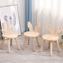 Venda por crianças pequenas engraçadas cadeira e fezes com formato de Origem Animal