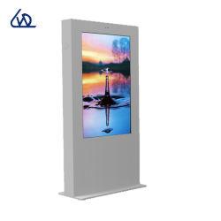 Cms-intelligentes Fernsteuerungssystem für das Bekanntmachen des Netz-Fußbodens, der LCD Digital Sigange steht