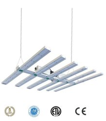 Samsung Lm301b/H 6 Bars Spider PAR lamp Full Spectrum 660nm LED-groeilampen voor installaties binnen (640 W 800 W 1000 W)