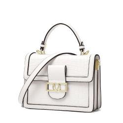 Großhandelsfrauen-Rabatt-Entwerfer-Handtaschen arbeiten keiner verwendeten Luxux-PU ledernen Fonds-Riemen hochwertiger Massenkurier-Beutel der schulter-V um