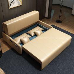 Neues nordeuropäisches Artrecliner-Sofa-faltendes Sofa-Bett-populäres Sofa-Großhandelsbett faltbar
