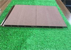 السطح الخشبي للطبقة الواقية من المطر / الجزء الخارجي من مادة فينيل كلوريد الفينيل خط سكة حديد قصير لبناء