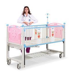 Cx2Xの美しい上塗を施してある鋼鉄病院機器の現代手動子供の漫画の処置の心配のベッドの製造