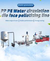 Afval Plastic Recycling water Ring Snijkorrels Pellets Bead Extruder Machine maken