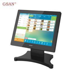 Ultra-fino toque Tablet-Like POS Terminal com o VFD Display do cliente