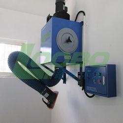 Extracteur de fumées de soudage murale avec système de nettoyage automatique