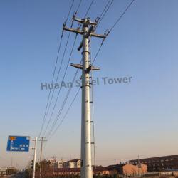 0.4Kv-330KV de transmisión de energía eléctrica de acero Self-Support Polo Mono