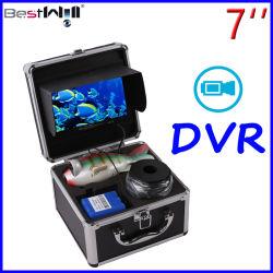 Underwater Camera 7'' l'enregistrement vidéo de l'écran numérique DVR 7J3