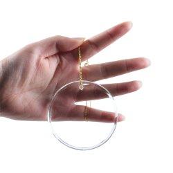 مستديرة زجاجيّة يعلّب مدلّاة حلية لأنّ هبات
