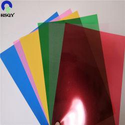 多彩なPVCシートによって曇らされる堅いPVC結合カバー