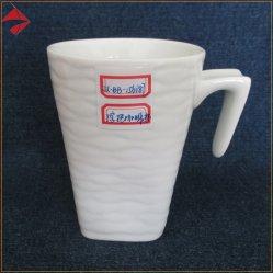 Vierge de gros de café en céramique en forme de V Tasse avec 7 poignée spéciale