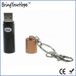 Forma de pila AAA 4GB de memoria Flash USB Stick (XH-USB-106)