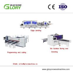 CNCのパネルは機械マルチ穴あけ機のドアの製造業を及び処理の機械装置見た