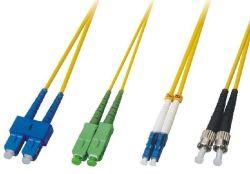 На заводе питания LC/СКП-FC/Upc Sm/мм ПВХ 2.0mm 1m 2m Fibre перемычку Оптоволоконные соединительные шнур питания для сети FTTH/FTTX
