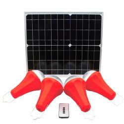 Accueil du Système Solaire de lumière LED solaire l'énergie portable l'enregistrement de la Lumière 20W Lumière solaire global le lever du soleil