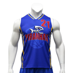 Impression en sublimation réversible Healong Sportswear Basketball Jersey Jersey uniforme Custom Sport Tee-shirt de basket-ball