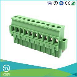 (5.08) blocchetti terminali di plastica dei connettori del collegare del passo Ma2.5/Vf5.0