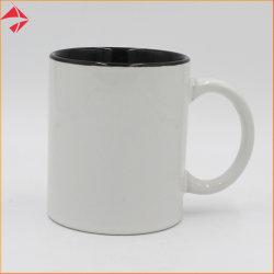11oz昇華コーヒー、茶、飲むミルクのための上塗を施してある内部カラー磁器のマグ