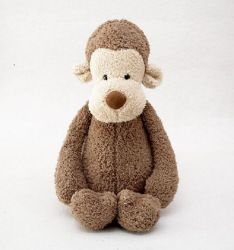 ICTI Animal programável recheadas de Fábrica de Brinquedos de macaco de pelúcia