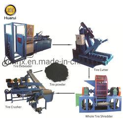 Pneu de resíduos de retalhamento pneu / Unidade de Reciclagem / Pneu Usado Shredder máquina para venda/Pneu Máquina de trituração electrónica