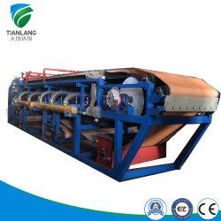 Автоматический вакуумный фильтр ремня Pres/твердых разделительной жидкости для добычи полезных ископаемых