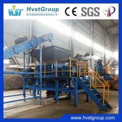 الإطار معدات إعادة التدوير المطاطية الإطار الفاصل السلكي الفولاذي إطار الماكينة ماكينة البغال