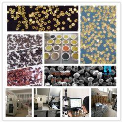 網またはミクロンの総合的なダイヤモンドの粉のチタニウムNIのCu上塗を施してあるDiamond/CBNの粉