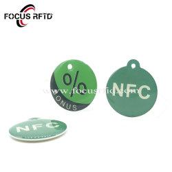 Оптовая торговля бесконтактный считыватель чип RFID метка ключа эпоксидной NFC карты ID IC Keyring