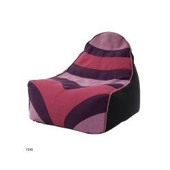Bolsa de granos de café al aire libre tejido sofá silla bean bag cubierta de espuma de llenado sofá perezoso