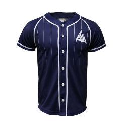 Nombre personalizado Diseño/Número de la sublimación de poliéster personalizadas baratas Camiseta de béisbol