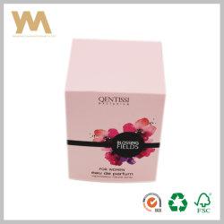 Boîte de papier de package pour les femmes parfum Eau de Parfum