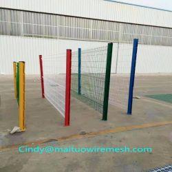 سور شبكي سلكي ملحوم من PVC مطلي للأمان