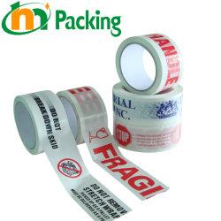 Comercio al por mayor impresas personalizadas BOPP/OPP Autoadhesivo Envase/Embalaje Cinta/paquete