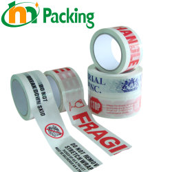 Commerce de gros Custom BOPP/OPP auto-adhésif imprimé l'emballage/Emballage/Bande de package