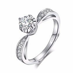 925 de echte Zilveren Levering voor doorverkoop van de Verlovingsring van het Patience van het Zirkoon van de Fles van het Parfum van Juwelen Uitstekende