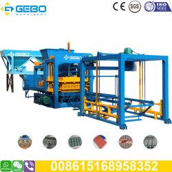 Verrouillage automatique de haut niveau de sortie de ciment pavés Usine de fabrication du bloc de la machinerie Qt8-15