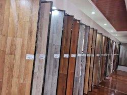 Grain du bois d'usine de plastique rainure en U de sol stratifié 8mm 12mm HDF Matériaux de construction des revêtements de sol