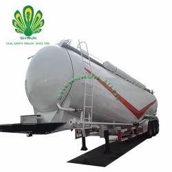 Shengrun 40t ciment en vrac pétrolier d'alimentation semi remorque de camion