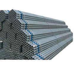 Tuyau en acier au carbone/produits en acier tube en acier/BS 1387 ASTM A53 Tuyaux en acier galvanisé