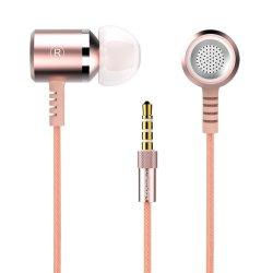 3,5 mm rose de promotion de l'écouteur stéréo filaire