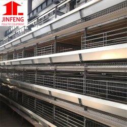 Il tipo bestiame delle file H della fabbrica 3-8 della strumentazione del pollame del pollo mette in gabbia