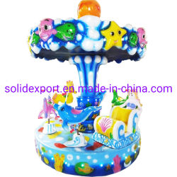 مقاعد لـ Mini Kids Carousel Horse 3/6 جميلة روضة الأطفال