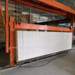 Leve o cimento de concreto celular autoclavado AAC máquina para fabricação de tijolos de bloco