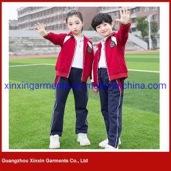 Kundenspezifische Form-Schule-Sport-Abnützung für Kind-PrimärSchuluniform (U163)